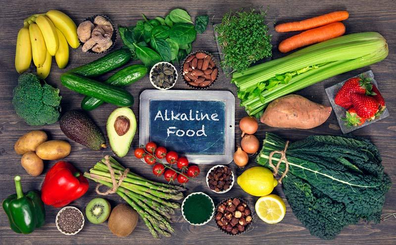 Alkaline foods in your diet