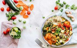 Healthy food and veggies