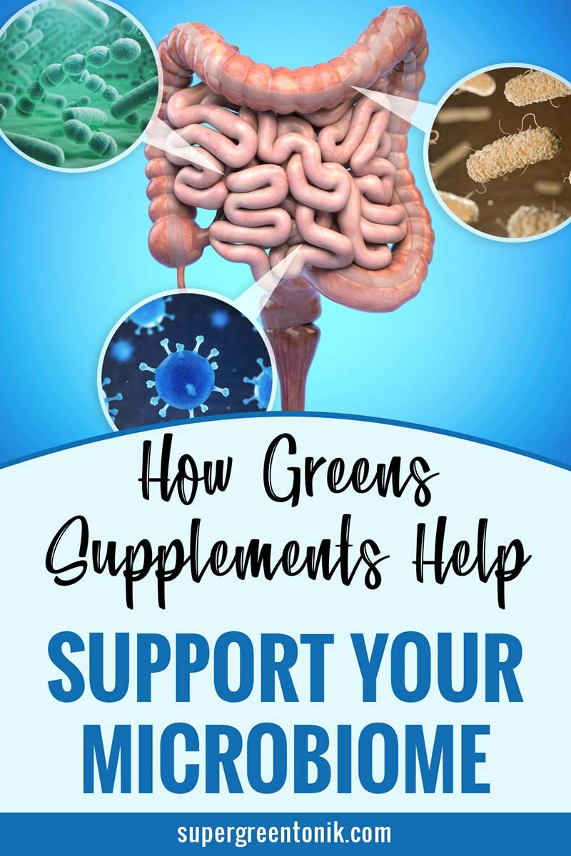 Greens support your microbiome?